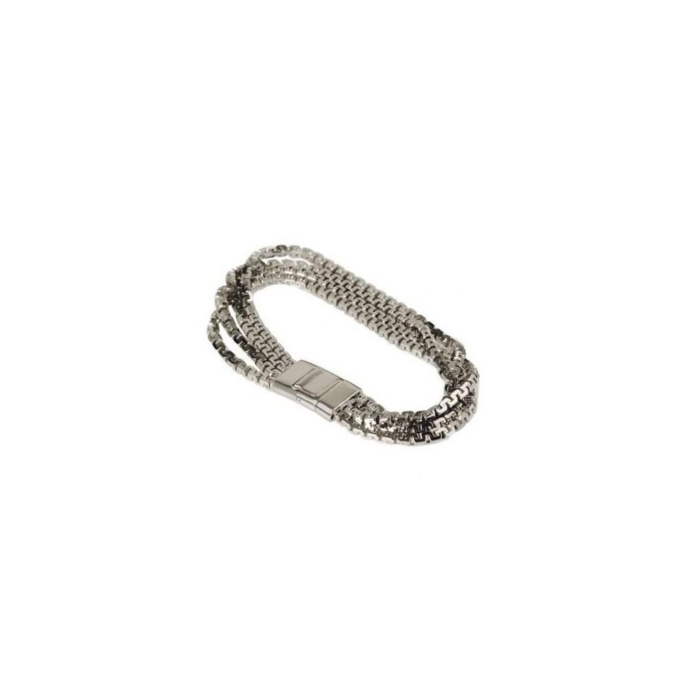 Bracciale donna in argento a maglia California BR 013 Italianfashionglam