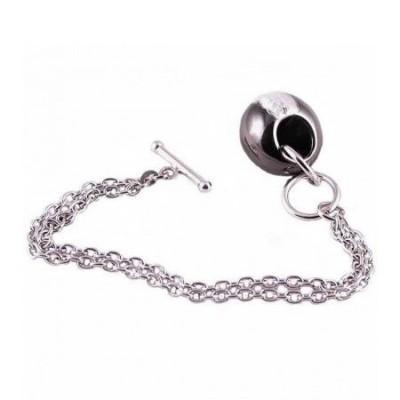 Bracciale donna in argento a catena con pendente BR 029 Italianfashionglam