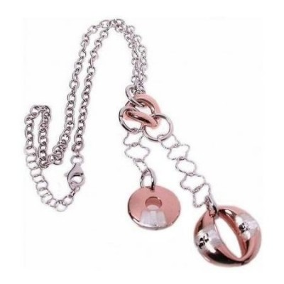 Collana da donna Beverly in argento con pendenti CO 003 Italianfashionglam