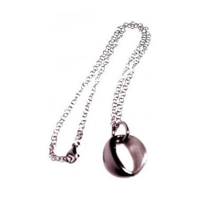 Collana deluxe da donna in argento con pendente rodiato - Italianfashionglam