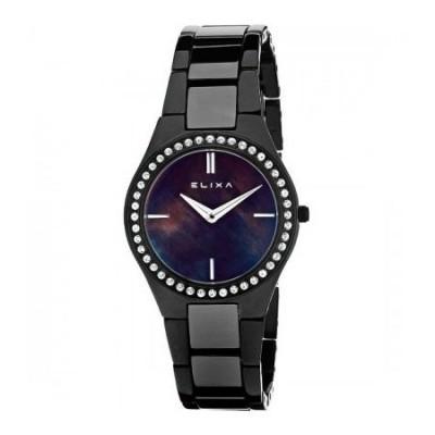 Orologio Elixa elegante donna ceramic black E060-L183-Italianfashionglam
