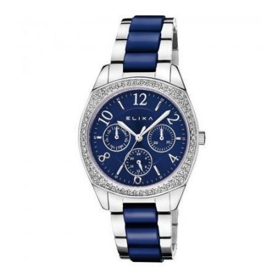 Orologio fashion Elixa donna Enjoy blue E111-L449-Italianfashionglam