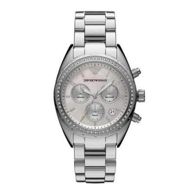 Orologio cronografo da donna Emporio Armani - AR5959-Italianfashionglam