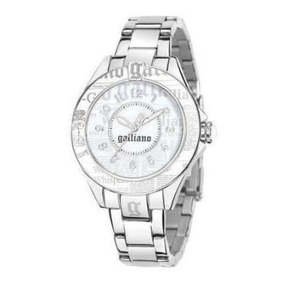 John Galliano orologio trendy da donna silver R2553105504 Italianfashionglam