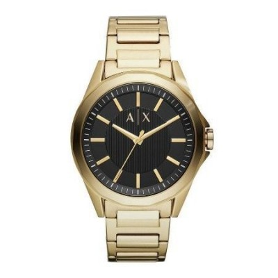 Armani Exchange orologio gold luxury uomo AX2619 Italianfashionglam