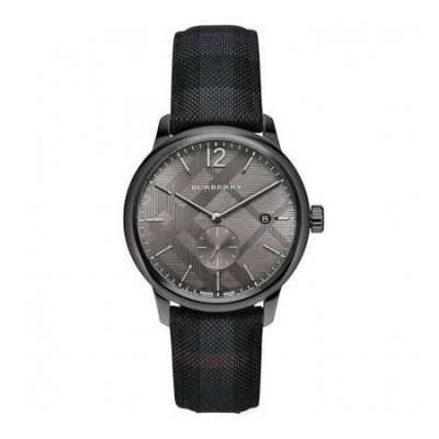 Orologio fashion uomo Burberry The Classic Round - BU10010-Italianfashionglam