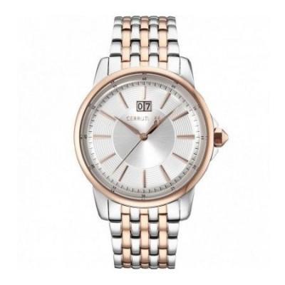 Cerruti 1881 orologio luxury uomo silver CRA072STR04MRT Italianfashionglam