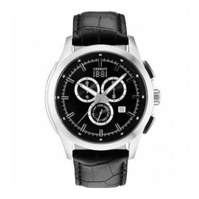 Cerruti 1881 cronografo luxury argentato uomo CRA092A222G Italianfashionglam