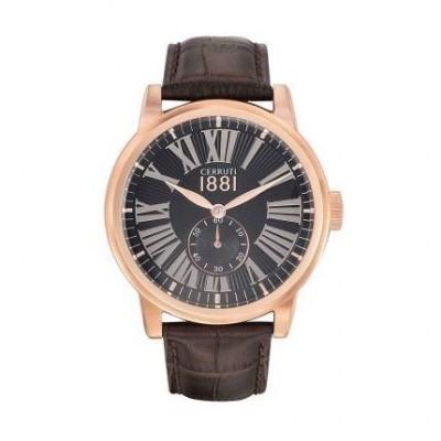 Cerruti 1881 orologio glamour da uomo CRA131SR02BR Italianfashionglam