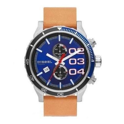 Cronografo Diesel sport style uomo blu Double Down DZ4322 Italianfashionglam