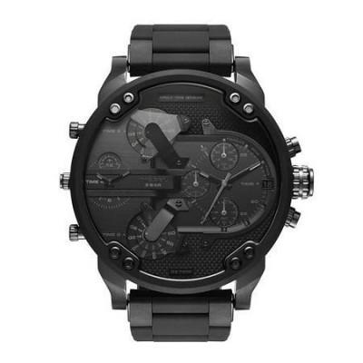 Diesel cronografo fashion da uomo Mr Daddy 2.0 black DZ7396-Italianfashionglam