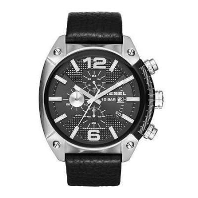 Cronografo Diesel elegante uomo silver Overflow DZ4341-Italianfashionglam