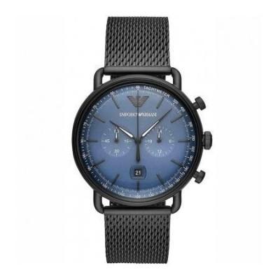 Cronografo trendy uomo Emporio Armani Aviator - AR11201-Italianfashionglam