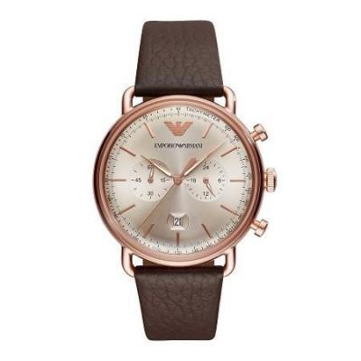 Cronografo elegante uomo Emporio Armani Aviator - AR11106-Italianfashionglam
