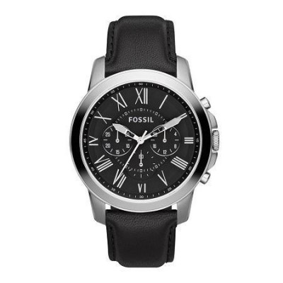 Orologio cronografo da uomo Fossil Grant - FS4812IE-Italianfashionglam