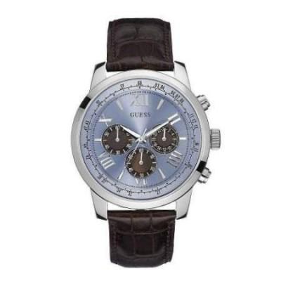 Guess Horizon - Cronografo trendy uomo argento W0380G6 - Italianfashionglam