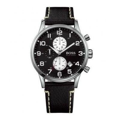 Cronografo elegante uomo Hugo Boss Aeroliner - HB1512569-Italianfashionglam