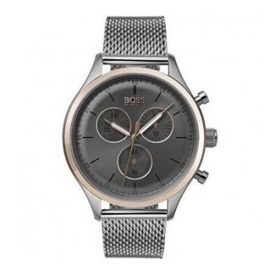 Cronografo elegante uomo Hugo Boss Companion - HB1513549-Italianfashionglam