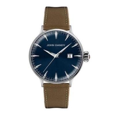 Orologio John Dandy fashion blue da uomo JD-2609M-17 Italianfashionglam