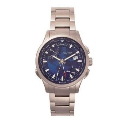 Cronografo Nautica elegante uomo argento Shanghai NAPSHG003-Italianfashionglam