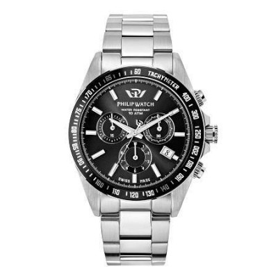 Cronografo uomo Philip Watch Caribe - R8273607002-Italianfashionglam