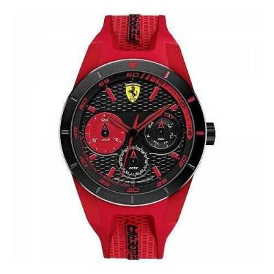 Scuderia Ferrari Red Rev T FER0830258 orologio da uomo-Italianfashionglam