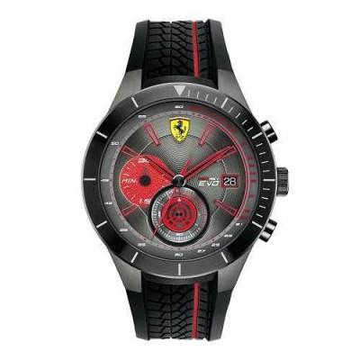 Scuderia Ferrari Red Rev Evo FER0830341 cronografo da uomo - Italianfashionglam