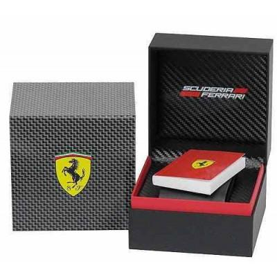 Scuderia Ferrari Red Rev Evo FER0830342 cronografo da uomo-c