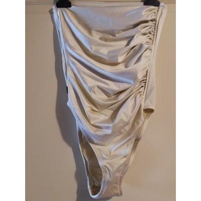 Imec costume da bagno intero color avorio - CBD 012 - Italianfashionglam