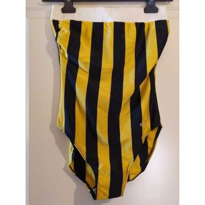 Fila costume da bagno intero giallo nero CBD 019 Italianfashionglam