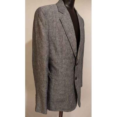 Tenkey giacca glamour uomo in lino grigio - GIUO 030 Italianfashionglam