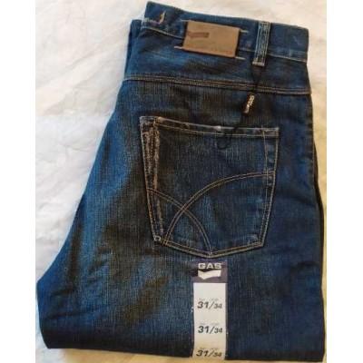 Gas blue jeans uomo denim vintage 5 tasche - BJU 010 Italianfshionglam