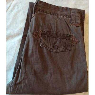 Oxer pantalone uomo chino in cotone brown - PTU 006 Italianfashionglam