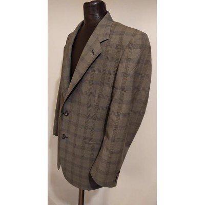 Nicolò Barbaro giacca classica uomo in lana color tortora - GIUO 018 Italianfashionglam