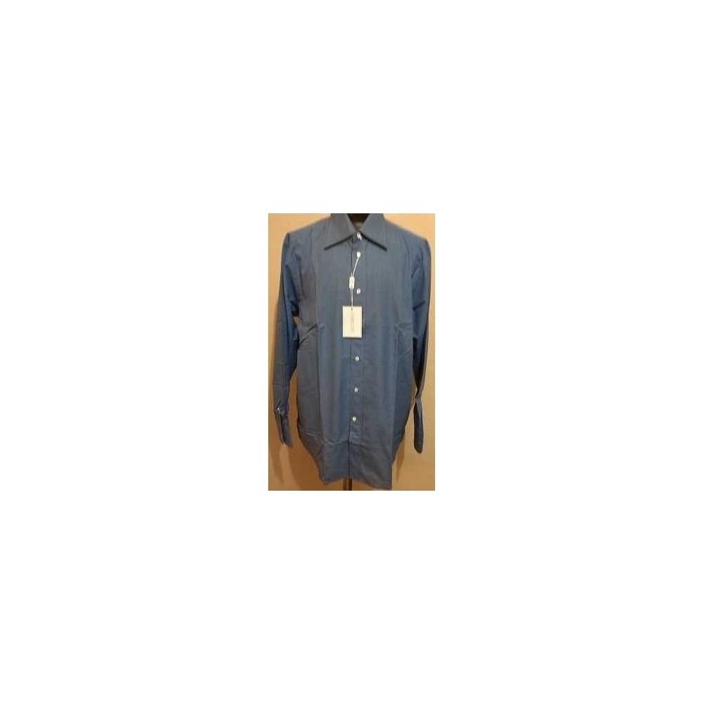 c786624d19070f Camicia cotone color azzurro stile classico uomo tendenza Pancaldi&B ...