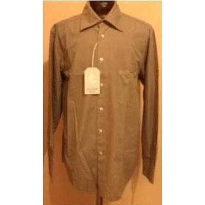 CAMICIA-UOMO-CLASSICA-COTONE-COLOR-GRIGIO-FANGO-MANICA-LUNGA-PAL-ZILERI-CHIC-FASHION-MADE-IN-ITALY-