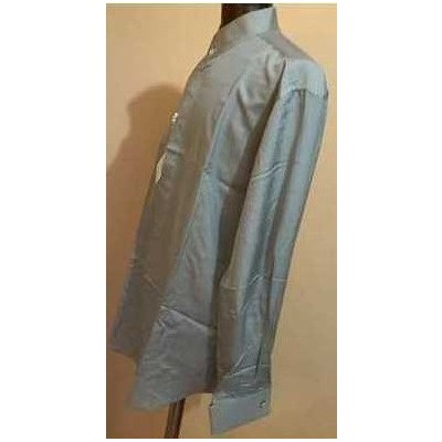 CAMICIA-UOMO-CERIMONIA-SETA-GRIGIO-COLLO-COREANA-PRESTIGIOSA-ELEGANTE-CERIMONIA-PARTY-COCKTAIL-PAL-ZILERI-MADE-IN-ITALY-