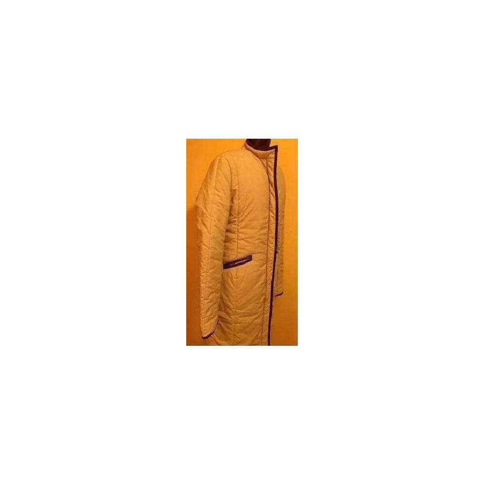 wholesale dealer 8f121 7519c Cappotto elegante lungo da donna in piumino color sabbia Fascino Taglia 48  Tonalità Rosa antico Colore Sabbia Tessuto Sintetico