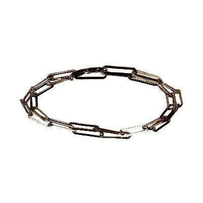 Collana girocollo donna in argento a rettangoli CO 008 Italianfashionglam
