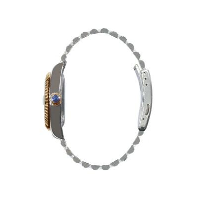 Orologio automatico unisex tutto in acciaio dorato Grand Genevè BP240167.