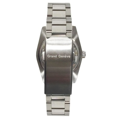 Orologio automatico unisex in acciaio argentato Grand Geneve BP240172.