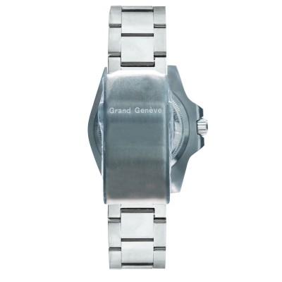 Orologio fashion uomo automatico in acciaio argentato Grand Geneva BP240154.