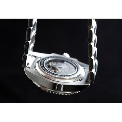 Orologio automatico da uomo in acciaio Grand Geneva BP240156 - Italianfashionglam - b
