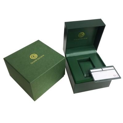 Orologio automatico da uomo in acciaio Grand Geneva BP240156 - Italianfashionglam - c