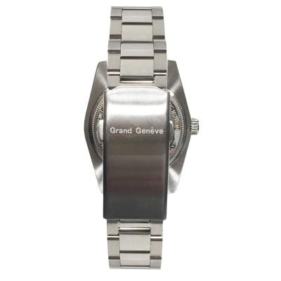 Orologio da uomo automatico in acciaio Grand Geneve BP240174.