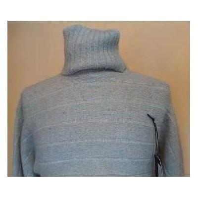 Maglione glam donna in lana dolcevita Coconuda MGD 001