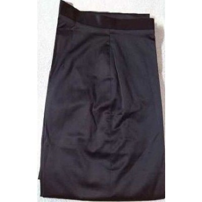 PANTALONE-DONNA-ELEGANTE-COLOR-NERO-COTONE-LUCIDO-FASHION-SEXI-TENDENZA-LOOK-