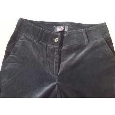 Pantalone glamour donna in vellutino Marica PND 011