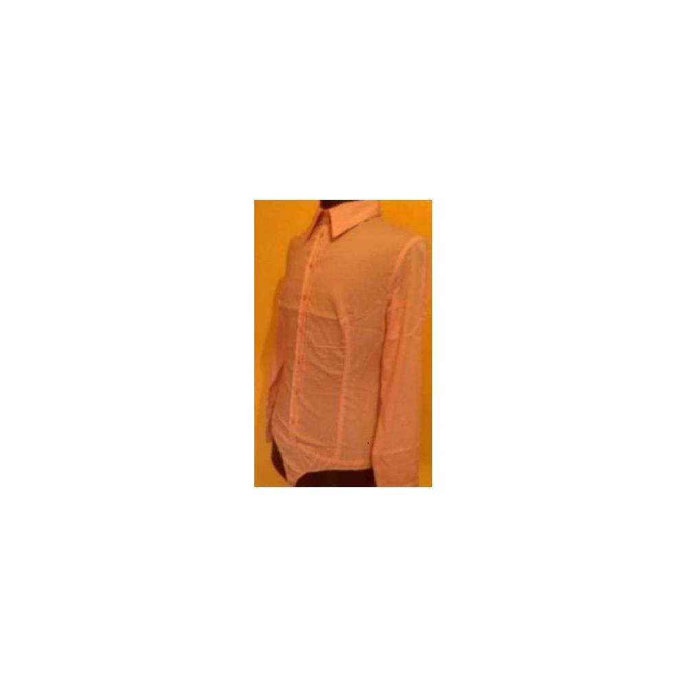 best authentic ece2a 738fa Blusa elegante cotone manica lunga Tessuto Cotone stretch Taglia 40 Colore  Rosa
