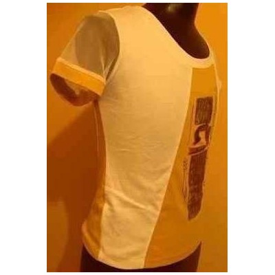 T-shirt-donna-cotone-bianco-stampe-casual-look-giovanile-sexi-stile-italiano-